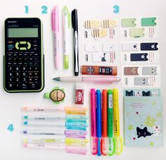 School's just around the corner . Ofcourse you're gonna have to buy new school supplies because if you buy boring yellow pencils and boring school supplies abd you see other girls that have pretty glittery tumblr - y rhinestoned school supplies your going to be jelous and you're going to regret getting boring school supplies