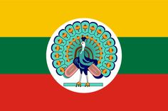 Flag of the State of Burma (1943-45) - State of Burma - Wikipedia, the free encyclopedia