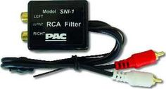 Ground Loop Isolator Noise Filter for all Car Amplifiers w/RCA