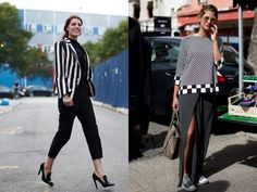 If You're Thinking About…..Graphic Black & White - The Sartorialist