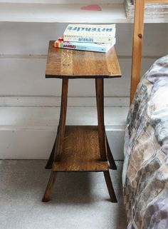 Wine Barrel Bedside Table