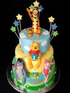Winnie The Pooh Cake - *
