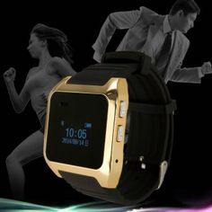 V9 Metal Case Silicone Band, OLED Screen, Camera, Remote, Call Reminding Smart Watch.