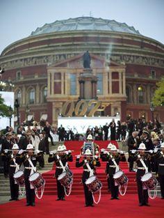 Skyfall World Premiere Royal Albert Hall