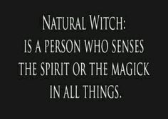 ∆ A Way of the Wise... Natural Witch