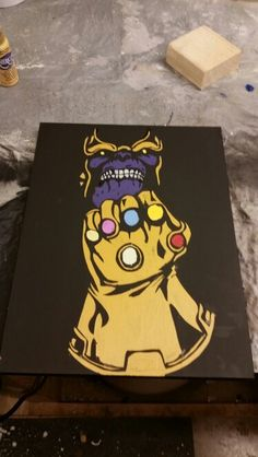 The universe is mine. Thanos f With the infinity gaunlet