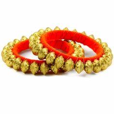 Siamah Bangle Set http://blossomboxjewelry.com/db16.html #indianjewelry #armcandy #bangles #churiya