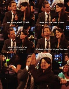 How I Met Your Mother / Favorite Pairing: Barney & Robin.