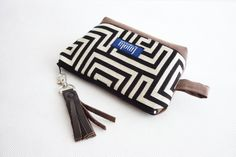 Cosmetic+bag+pouch+pencil+pouch+beauty+bag+greek+from+Imola+by+noemiimola+by+DaWanda.com