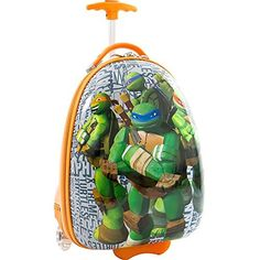 Nickelodeon TMNT Ninja Turtles Boys 18 Rolling Carry On Luggage >>> Check out the image by visiting the link. Luggage Sale, Best Luggage, Luggage Brands, Carry On Suitcase, Carry On Luggage, Travel Luggage, Luggage Reviews, Ninja Turtles, Online Bags