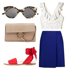 """""""Untitled #84"""" by adridan on Polyvore featuring Marques'Almeida, Hollister Co., Acne Studios, Chloé and Illesteva"""