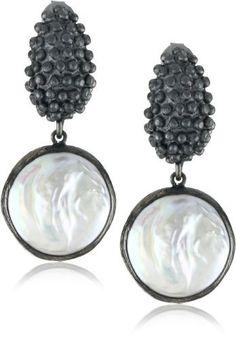 "Azaara ""Static"" Valentina Pearl Earrings http://www.endless.com/Azaara-Static-Valentina-Pearl-Earrings/dp/B0050H5I9Q/ref=cm_sw_o_pt_dp"