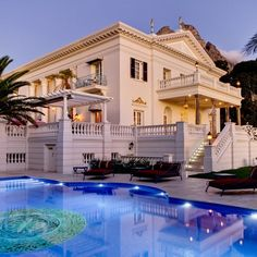 Priced at 25 million euros ($31 million), it's said that Enigma Mansion is the most expensive property to be put on the market in South Africa.