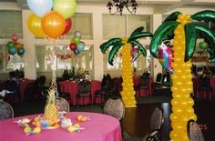 Image detail for -Luau Decor Ideas | Hawaii Dermatology  love the palm trees