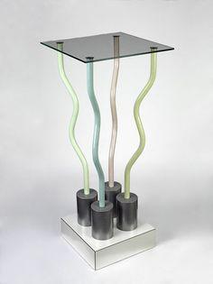 Le Strutture Tremano table, Ettore Sottsass, 1979