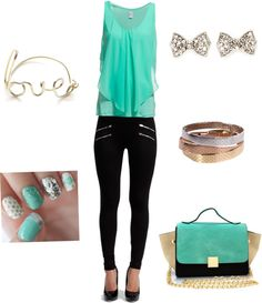"""""""Gloria"""" by cme3 on Polyvore  #mint #fashion #love #polyvore"""