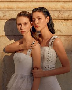 Vogue Brazil March 2017 Lorena Maraschi & Angelica Erthal by Zee Nunes