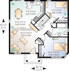 house_plan_maison_plain_pied_Bungalow_RDC_W2107