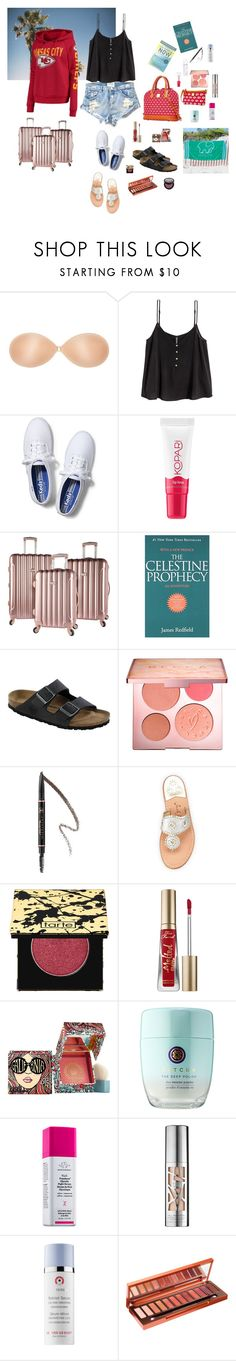 """My Life"" by mledoll ❤ liked on Polyvore featuring OneTeaspoon, Keds, Kopari, Birkenstock, Sephora Collection, Anastasia Beverly Hills, Jack Rogers, tarte, Too Faced Cosmetics and Benefit"