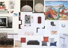 Arcadia CA Online Design Project Family Room Furnishings Concept Board JSInteriorDesBlogspot
