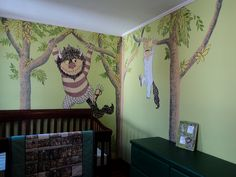 If I ever have another baby & its a boy I want this nursery.