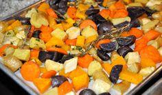 Fresh Cooking=Happy People: Roasted Harvest Vegetable Medley
