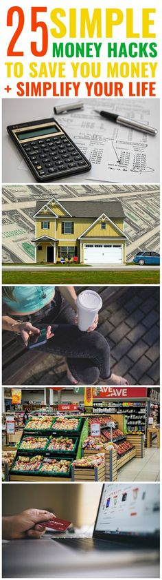25 Money Hacks That'll Make You Financially Fit for Life - Sarah Blooms Save Money On Groceries, Ways To Save Money, Money Tips, Money Saving Tips, Money Hacks, How To Make Money, Frugal Living Tips, Frugal Tips, Financial Literacy