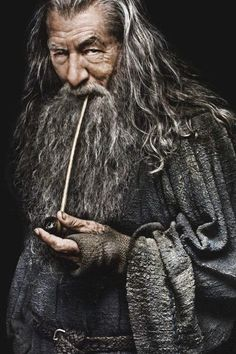 Gandalf the Grey. Come on, who doesn't like a great wizard?! Reliably scruffy, down to earth and unusually, relateable. A great character!