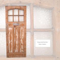 Pine Wood dor06 英国製パイン無垢材アンティークドア ポスト付(20 インテリア 雑貨 家具 Antique ¥126000yen 〆06月22日