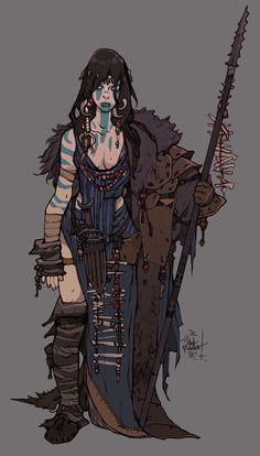 Art by Jakub Rebelka Fantasy Character Design, Character Creation, Character Design Inspiration, Character Concept, Character Art, Concept Art, Viking Character, Dnd Characters, Fantasy Characters