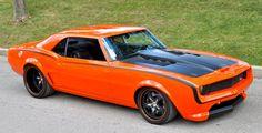 American Muscle: Custom Chevrolet Camaro LSX-Powered 1967