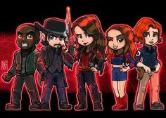 Lord Mesa Art — Altogether now! Tim Rozon, Lord Mesa Art, Melanie Scrofano, Really Cool Drawings, Dominique Provost Chalkley, Waverly And Nicole, Netflix, Flash Art, Mother Of Dragons