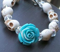 Hey, I found this really awesome Etsy listing at https://www.etsy.com/listing/101780835/sugar-skull-jewelry-day-of-the-dead
