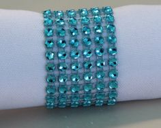 Choose your color 100 Bling Napkin Rings by OCCraftsPartyFavors