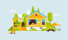 Houses for Funda on Behance
