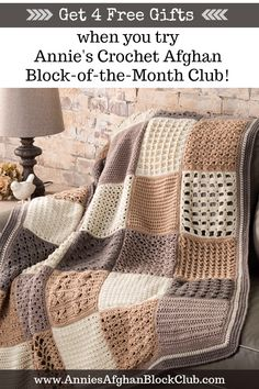 Master exciting new crochet skills every month! Plus, there's yarn in every shipment!
