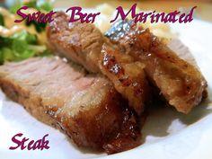 Eating Bariatric: Sweet Beer Marinated Steak