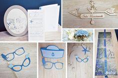Wedding stationary Odysseus partecipazione di nozze segnaletica photobooth tema mare