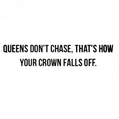 This Queen never will...