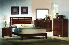 evan 5 piece bedroom suite 1 029 00 brown wood mahogany brown coaster furniture