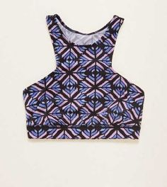 Aerie Hi Neck Sports Bra. Work out with simple support or lounge in with pretty details. #Aerie
