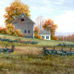 Double Fence by Fred Swan