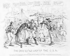 1806 cartoon mocking Lewis & Clark expedition and the