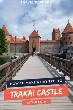 May 2019 - For travellers to Lithuania a day trip to Trakai from Vilnius is a no-brainer. Here's all you need to know to see the castle on a great Trakai day trip. Europe Destinations, Europe Travel Guide, Travel Guides, Holiday Destinations, Ukraine, Lithuania Travel, Poland Travel, France, European Travel