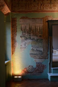 Image 19 of 31 from gallery of Brolettouno Apartment / Archiplanstudio. Photograph by Davide Galli Stucco Walls, Hotel Decor, Interior Inspiration, Architecture Design, Restoration, Gallery, Projects, Pictures, Painting