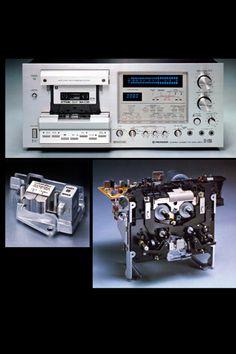 PIONEER CT-F1250 HiFi-Cassettedeck (Pic: TheVintageKnob.org) - www.remix-numerisation.fr - Transfert Numérisation restauration audio