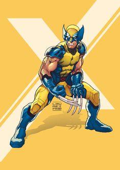 Goodnight everyone ! Wolverine art by Comic Movies, Comic Book Characters, Comic Books Art, Comic Art, Book Art, Wolverine Art, Logan Wolverine, Marvel Art, Marvel Heroes