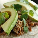 Mexican Slow Cooked Pork Carnitas - only 15 minutes to prep before going in the slow cooker.