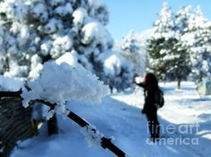 tasting snow