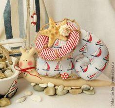"""Куклы Тильды ручной работы. Ярмарка Мастеров - ручная работа Улитка Тильда """"Морское путешествие"""". Handmade."""